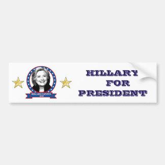 Hillary Clinton 2016 bumper sticker. Bumper Sticker