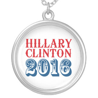 HILLARY CLINTON 2016 CLASSIC PERSONALIZED NECKLACE