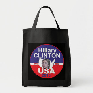 Hillary CLINTON 2016 Grocery Tote Bag