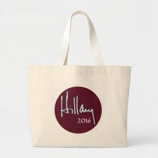 Hillary Clinton 2016 Jumbo Tote Bag