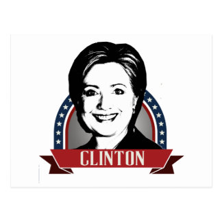 HILLARY CLINTON 2016 NAMEPLATE -.png Postcard