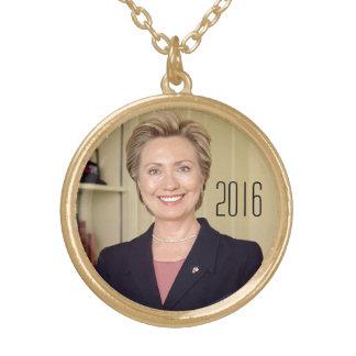 Hillary Clinton 2016 Custom Necklace