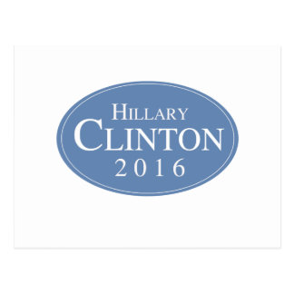 HILLARY CLINTON 2016 OVALESQUE -.png Post Cards