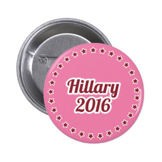 Hillary Clinton 2016 Pink 2.25-inch Pinback Button