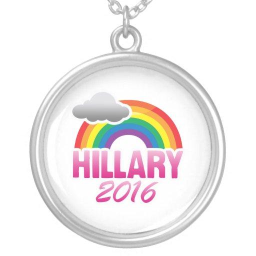 HILLARY CLINTON 2016 PRIDE NECKLACE