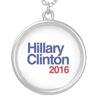 HILLARY CLINTON 2016 SIMPLE.png Pendant