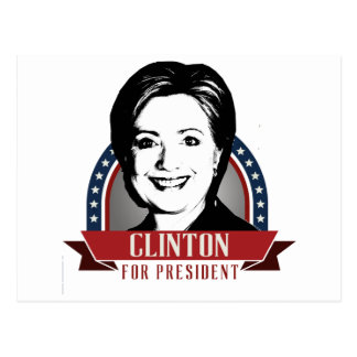 HILLARY CLINTON 2016 SPANGLE -.png Post Card