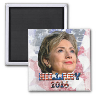 Hillary Clinton 2016 Square Magnet