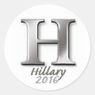 Hillary CLINTON 2016 Round Stickers