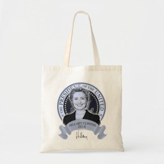 Hillary Clinton 2016 tote bag.