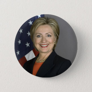 Hillary Clinton 6 Cm Round Badge