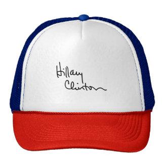 Hillary Clinton Autograph (black) -.png Cap