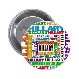 Hillary Clinton 6 Cm Round Badge