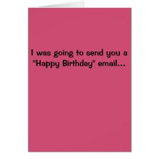 Hillary Clinton Birthday Card