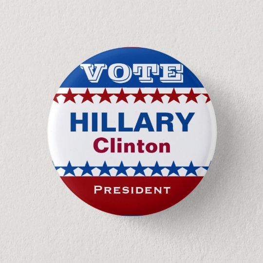 Hillary Clinton Campaign Button
