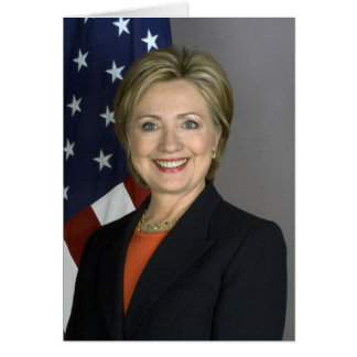 Hillary Clinton Card