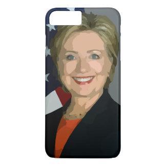 Hillary Clinton election 2016 iPhone 7 Plus, Tough iPhone 7 Plus Case