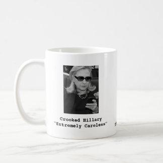 "Hillary Clinton: ""Extremely Careless"" Coffee Mug"