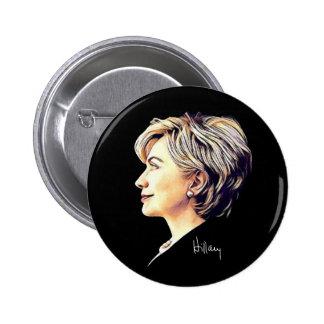 "Hillary Clinton ""Eyes to the Future"" Button"