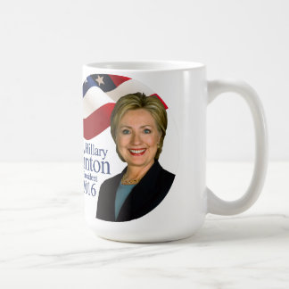 Hillary Clinton for President 2016 Coffee Mug
