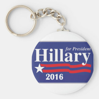 Hillary Clinton for President 2016 Key Chains