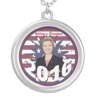 Hillary Clinton for President 2016 Necklace