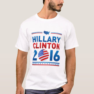 Hillary Clinton For President Men's Basic T-Shirt