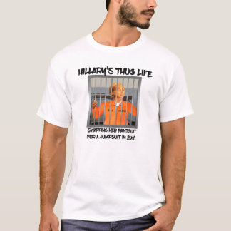 Hillary Clinton in Prison T-Shirt