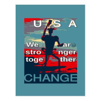 Hillary Clinton latest campaign slogan for 2016 Postcard