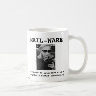 Hillary Clinton: MAIL-WARE Coffee Mug
