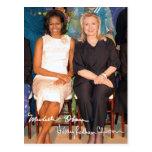 Hillary Clinton & Michele Obama Postcard