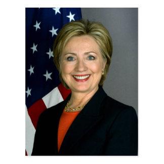Hillary Clinton Official Portrait Postcard