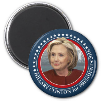 Hillary Clinton Photo - 2016 Campaign Gear 6 Cm Round Magnet