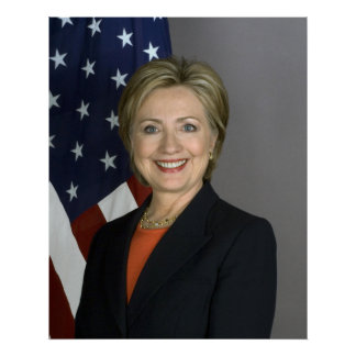 Hillary Clinton Poster