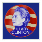 Hillary Clinton POSTER Print