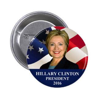 """Hillary Clinton President 2016 Button Pin 2"""""""