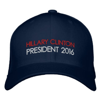 HILLARY CLINTON President 2016 Embroidered Hats