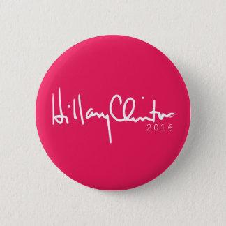 Hillary Clinton President 2016 Pinback Button