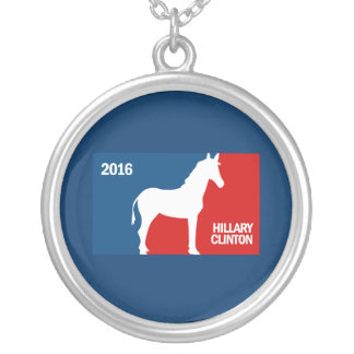 HILLARY CLINTON PRO DNC 2016 PERSONALIZED NECKLACE