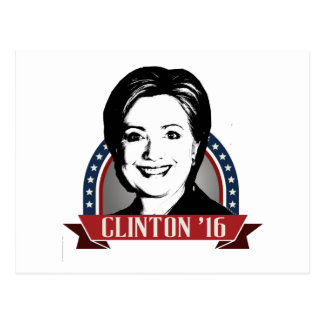 HILLARY CLINTON TO RUN IN 2016 -.png Postcard