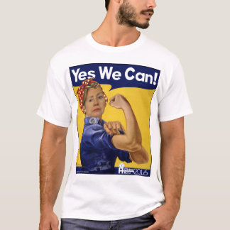Hillary Clinton Yes We Can! T-Shirt