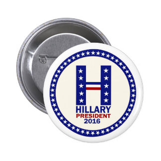 Hillary for President 2016 6 Cm Round Badge