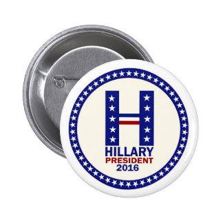 Hillary for President 2016 6 Cm Round Badge