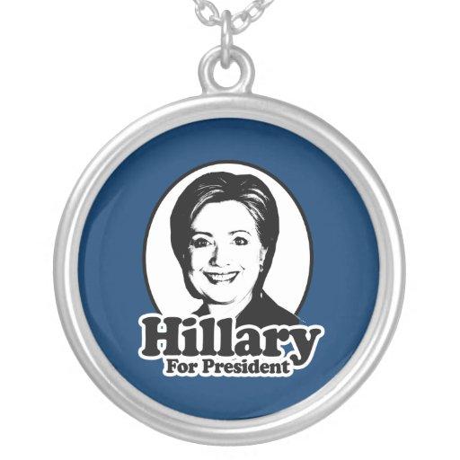 HILLARY FOR PRESIDENT 2016 PENDANT