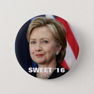 Hillary for President 6 Cm Round Badge