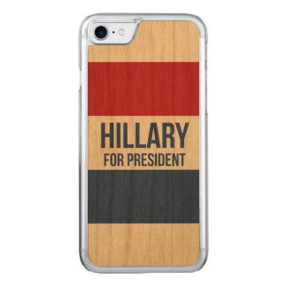 Hillary for President iPhone 7 Case