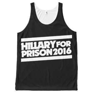 Hillary for Prison 2016 All-Over Print Tank Top