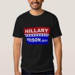 Hillary for Prison 2016 Anti Hillary Tee shirt