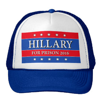 """HILLARY FOR PRISON 2016"" CAP"