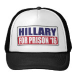 Hillary for Prison 2016 Cap